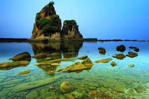Sawarna Surga Tersembunyi di Banten